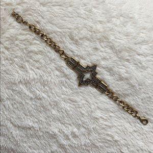 Lucky Brand Marcasite Star Bracelet